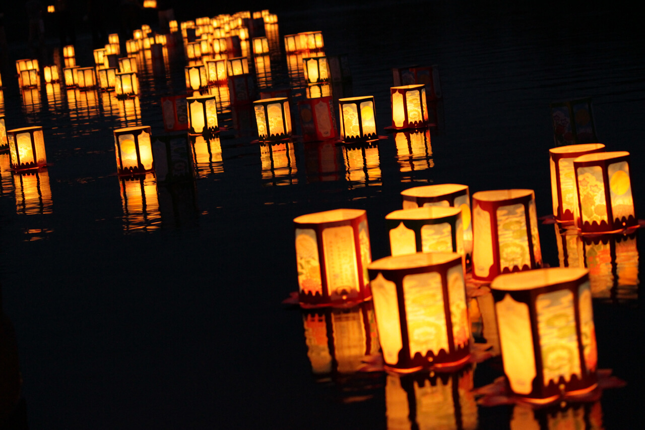 Floating Lanterns of Niwatsuki Kannon